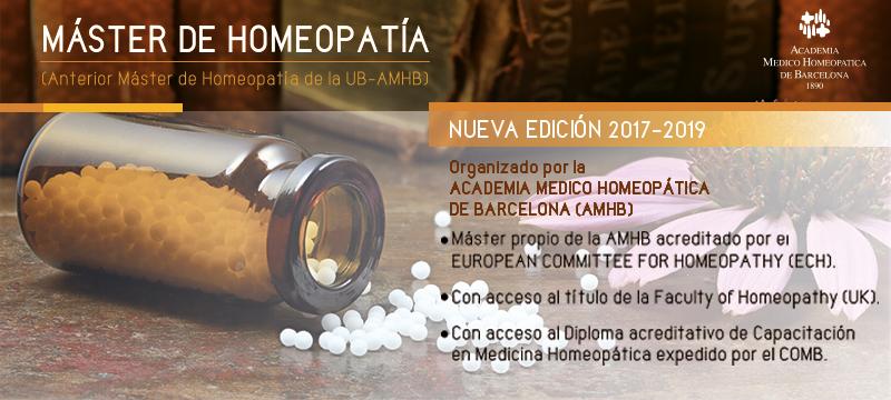 Máster de Homeopatía Online (edición 2021-22)